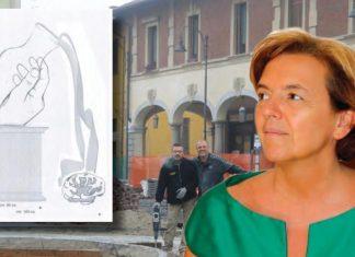 busto garolfo stauta in piazza 20.000 euro bufera giunta pd
