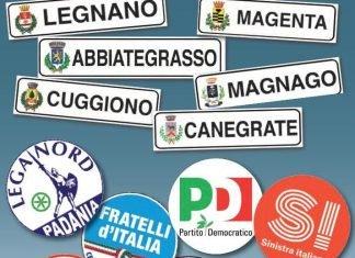 elezioni 2017 in 6 comuni altomilanese