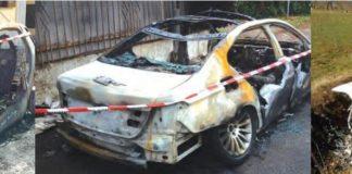 parabiago cimitero automobili furti incendi dolosi